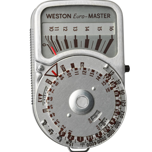 """Weston Euro-Master light meter"" stock image"