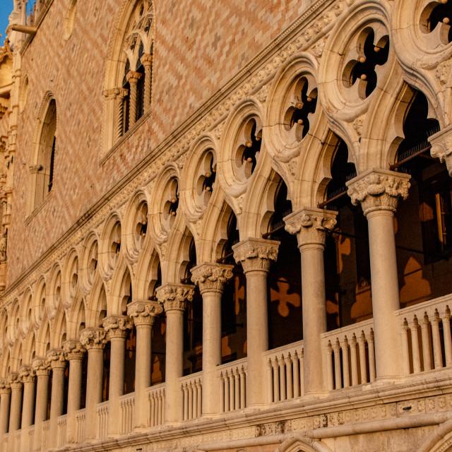 """""""Doge's Palace - Venice"""" stock image"""
