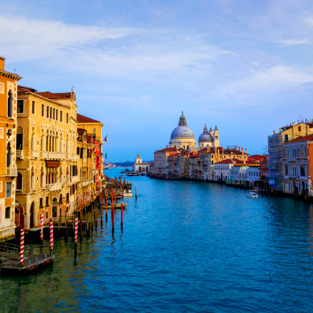 """""""Grand Canal - Venice"""" stock image"""