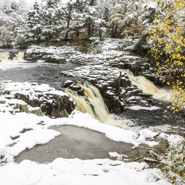 """""""Low Force Teesdale"""" stock image"""