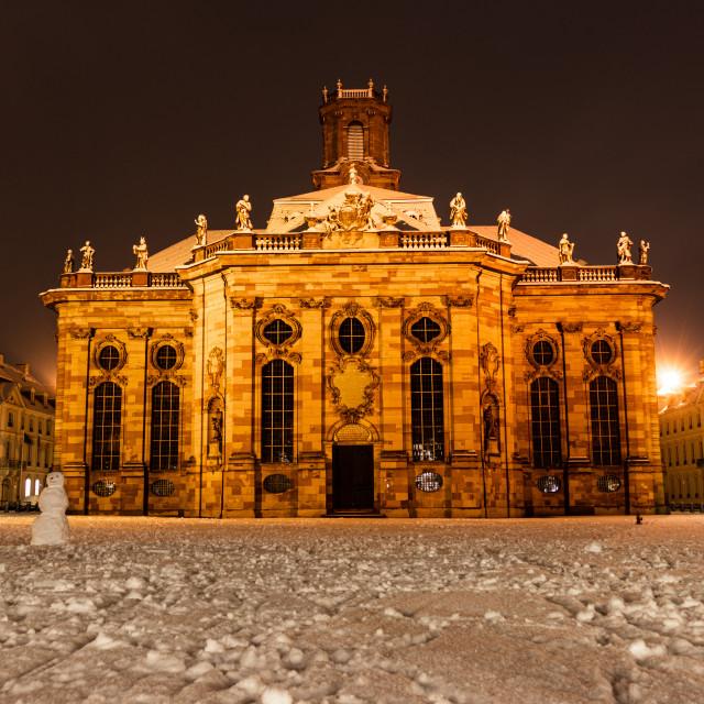 """Ludwigskirche"" stock image"