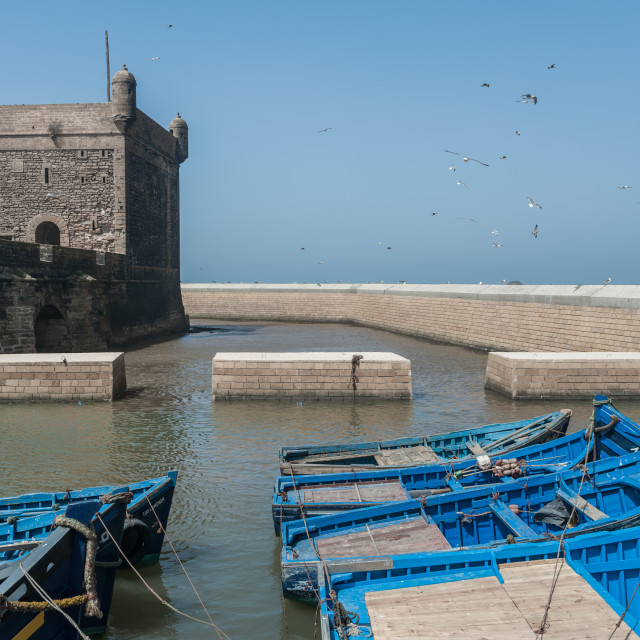 """Port of Essaouira"" stock image"