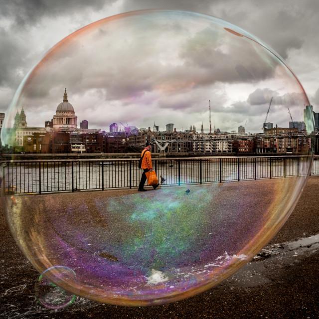 """Bubble"" stock image"