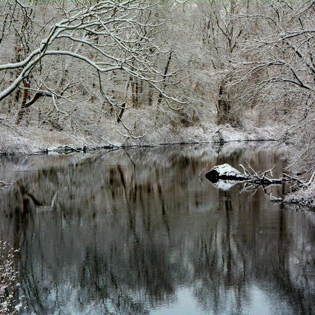"""Pawtuxet River"" stock image"