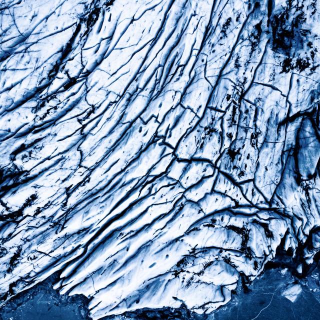 """Glacier puzzle"" stock image"