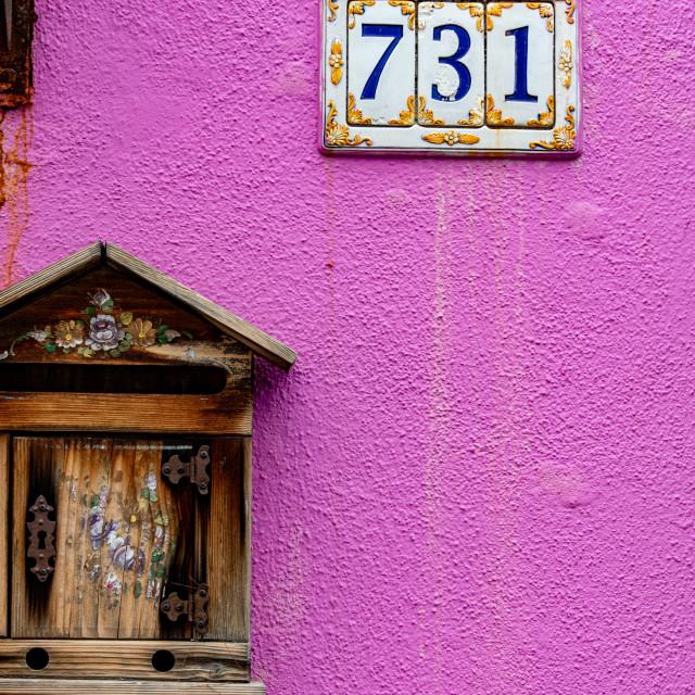 """""""Burano Colour Palette"""" stock image"""
