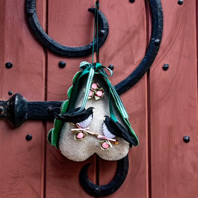 """Burano Shutter Adornment"" stock image"
