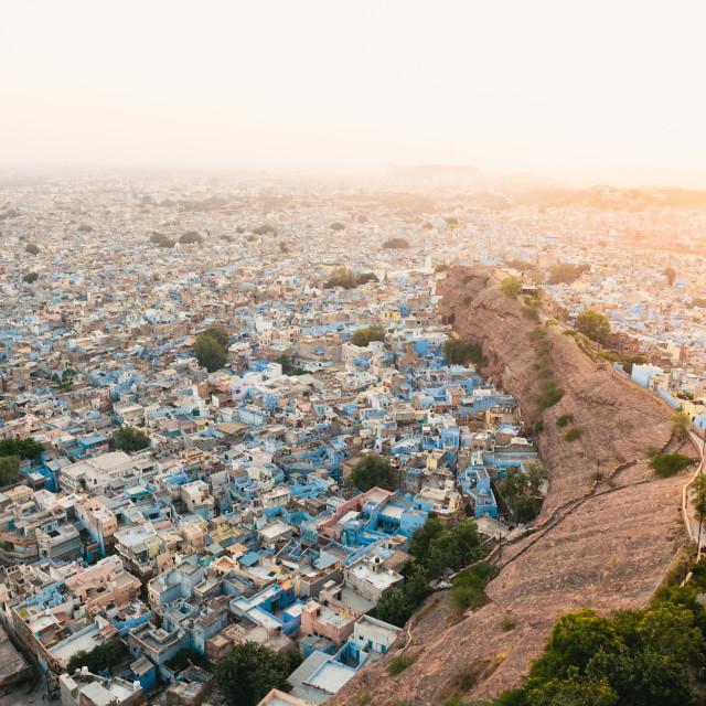 """Jodhpur - The Blue City"" stock image"