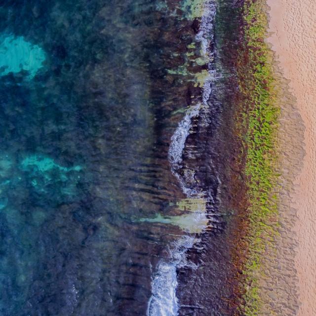 """""""Hawaiian Shoreline"""" stock image"""
