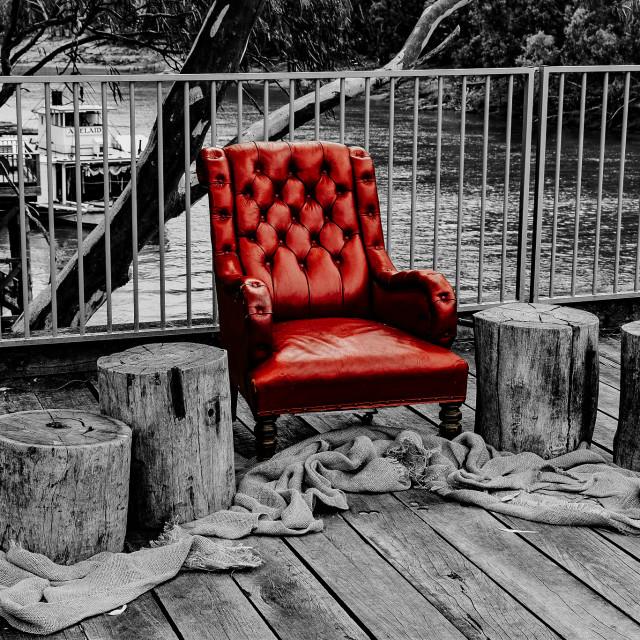 """Colour Pop Chair"" stock image"