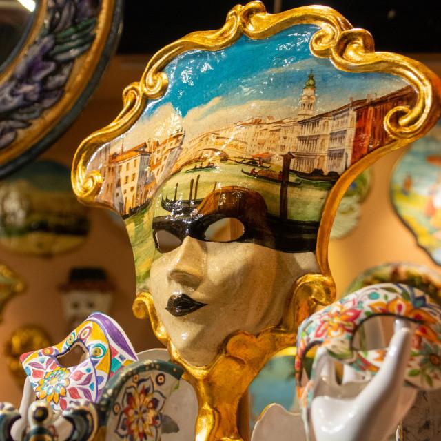 """""""Venetian Full Mask"""" stock image"""