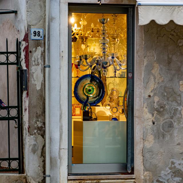 """Murano, Venice"" stock image"