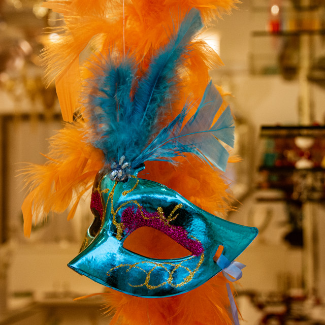 """""""Party Mask in Murano"""" stock image"""