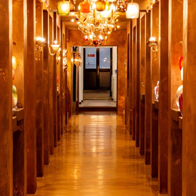 """""""Hall of Lights"""" stock image"""