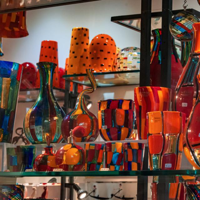 """""""Murano Glass Show 2"""" stock image"""