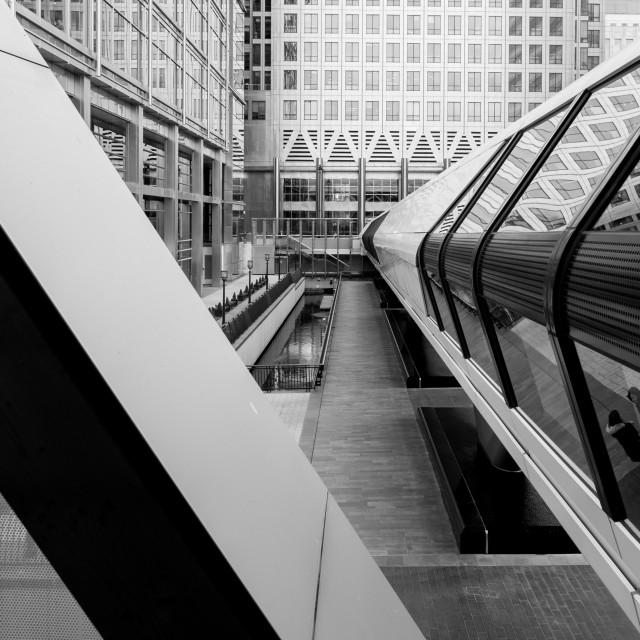 """Canary Wharf"" stock image"