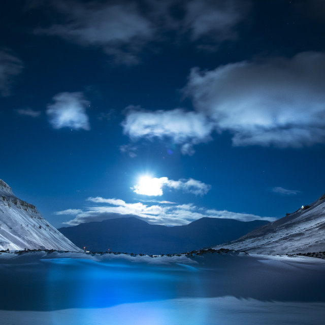 """Svalbard"" stock image"