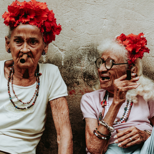 """Cuban Ladies"" stock image"