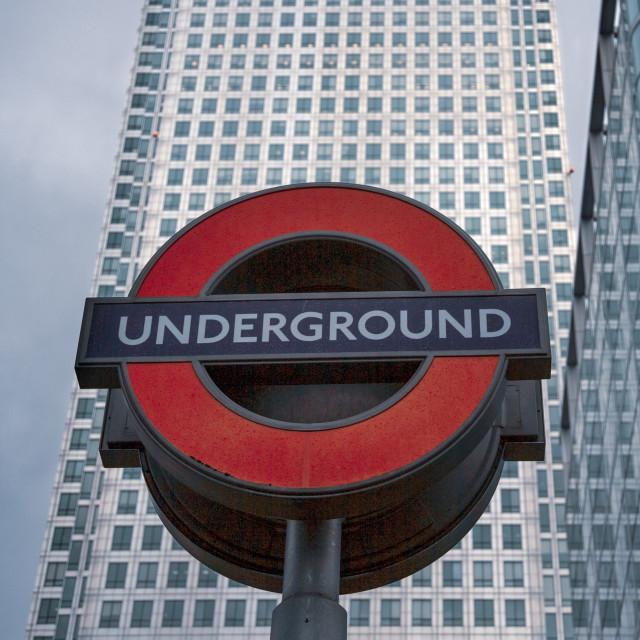 """Underground Overground"" stock image"