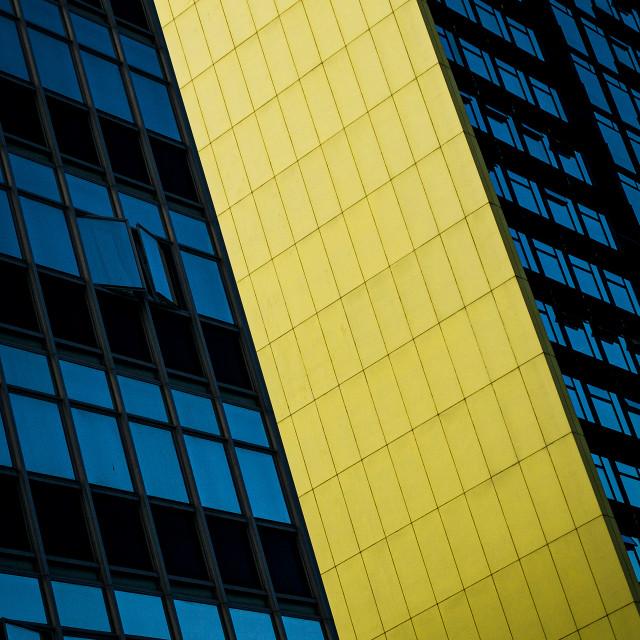 """Yellow Stripe"" stock image"