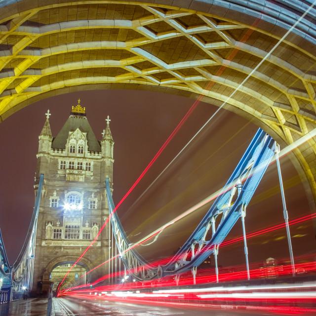 """Bridge Blur"" stock image"