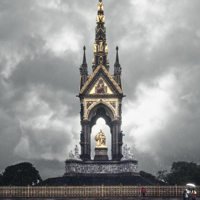 """""""Royal Albert Memorial, London"""" stock image"""