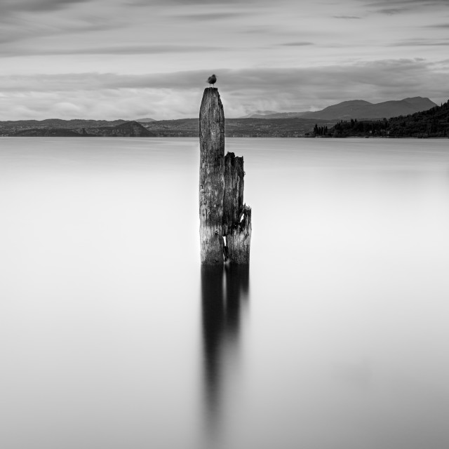 """""""Lake Garda"""" stock image"""