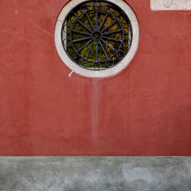 """""""Venetian Window"""" stock image"""