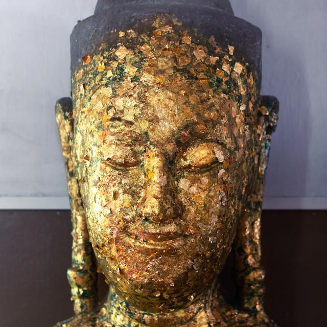 """Buddha portrait"" stock image"