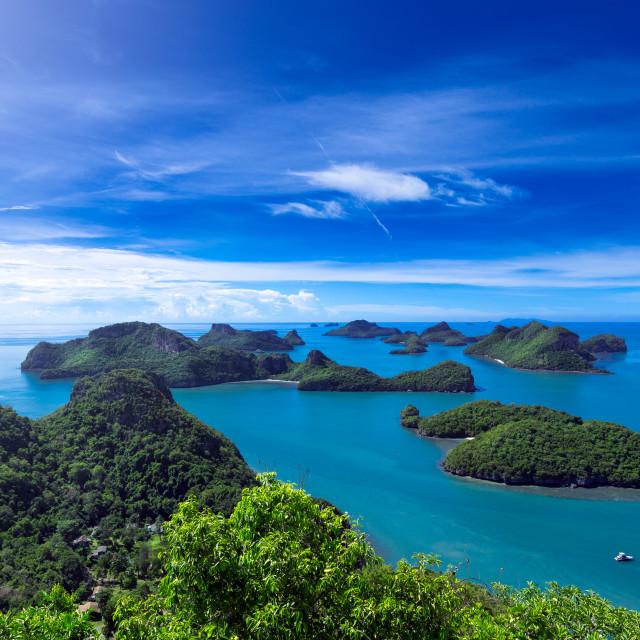 """Koh Phangan Island Paradise"" stock image"