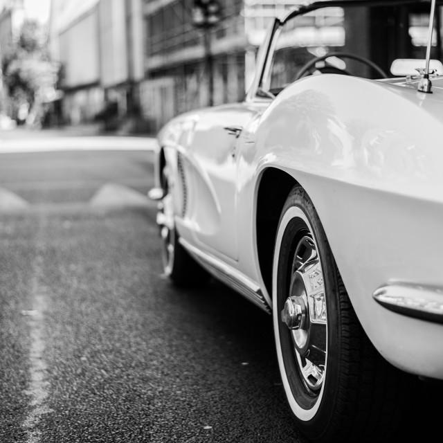 """1962 Chevolet Corvette"" stock image"