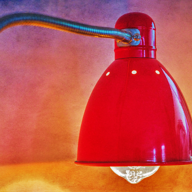 """""""Red Lamp"""" stock image"""