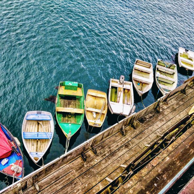 """Big Little Boats"" stock image"