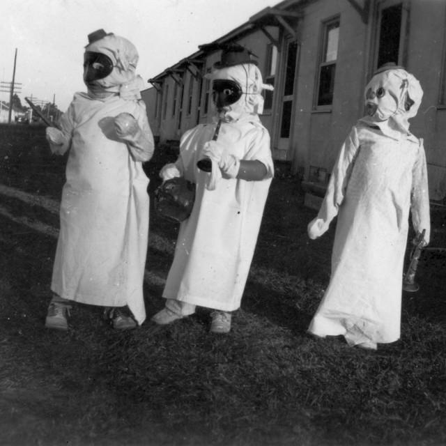 """Vintage Halloween Costumes"" stock image"