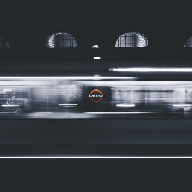 """""""Baker Street, London"""" stock image"""