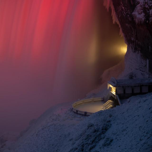 """""""Below the Falls 73"""" stock image"""