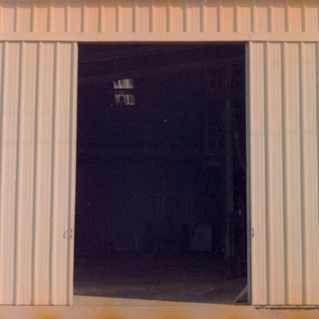 """""""Garage Door"""" stock image"""