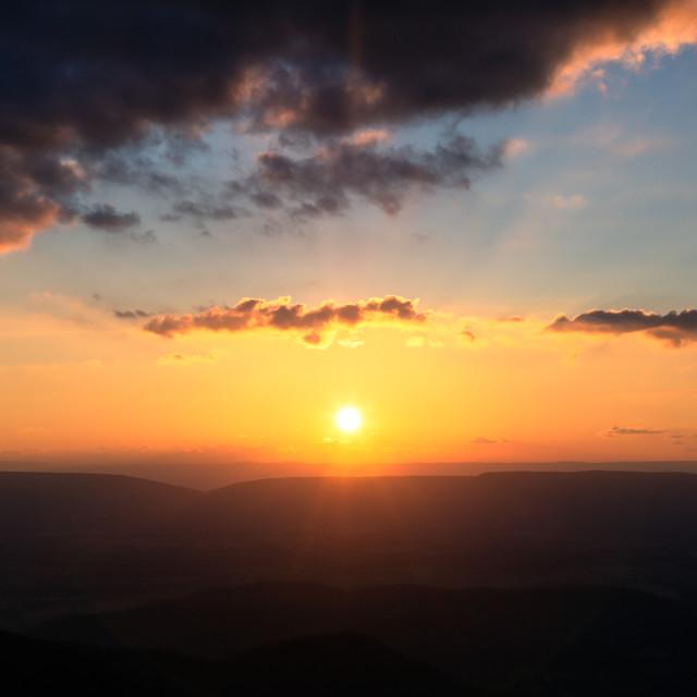 """Shenandoah National Park, VA"" stock image"