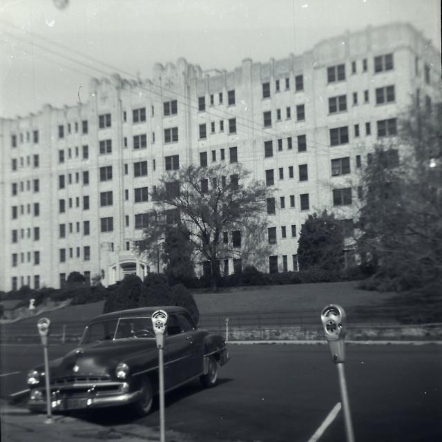 """Old Building, unknown origin"" stock image"