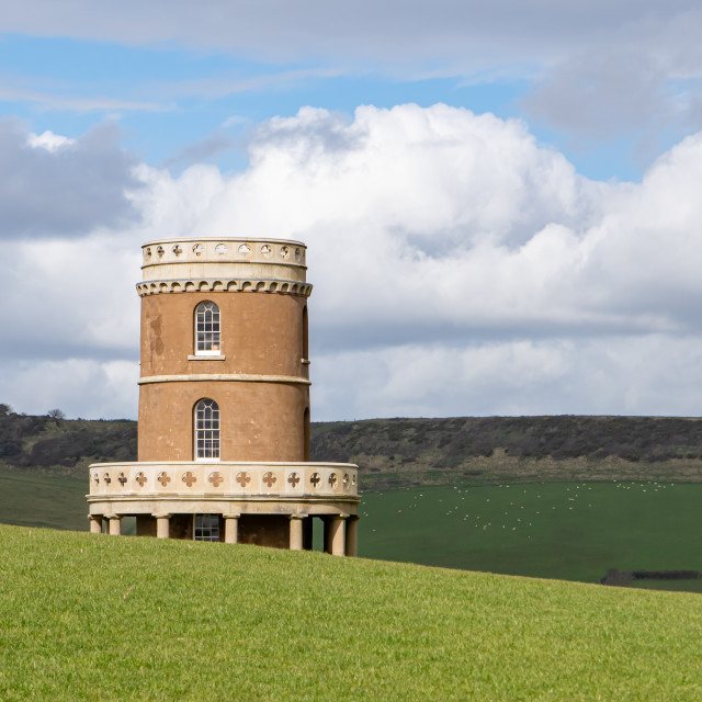 """""""Clavell Tower"""" stock image"""