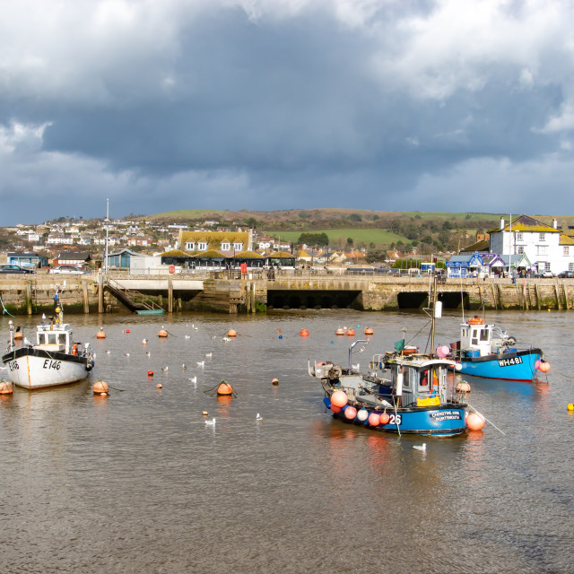 """""""West Bay Harbour"""" stock image"""
