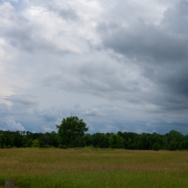 """""""Storm Clouds - 1"""" stock image"""
