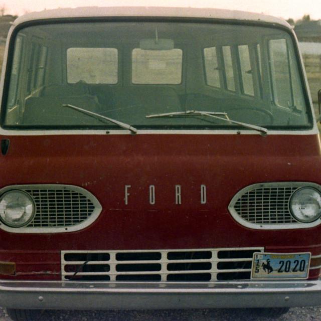 """Ford Van"" stock image"