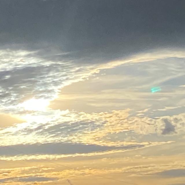 """""""Sunset in Albuquerque"""" stock image"""