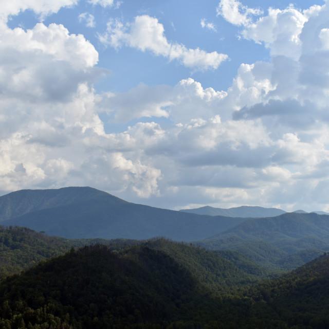 """Blue Ridge Mountains"" stock image"
