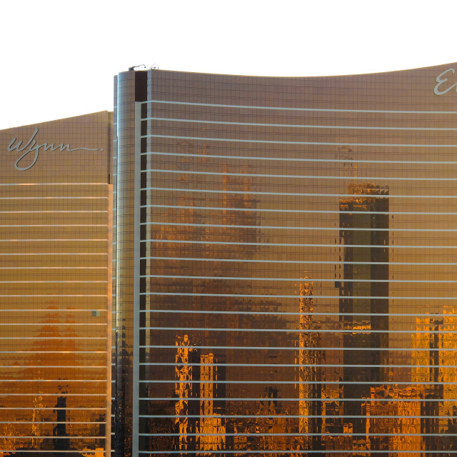 """""""Encore and Wynne hotel and casino, Las Vegas"""" stock image"""