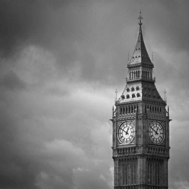 """""""Big Ben Tower, London"""" stock image"""