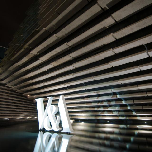 """Dundee V&A Museum, Scotland"" stock image"