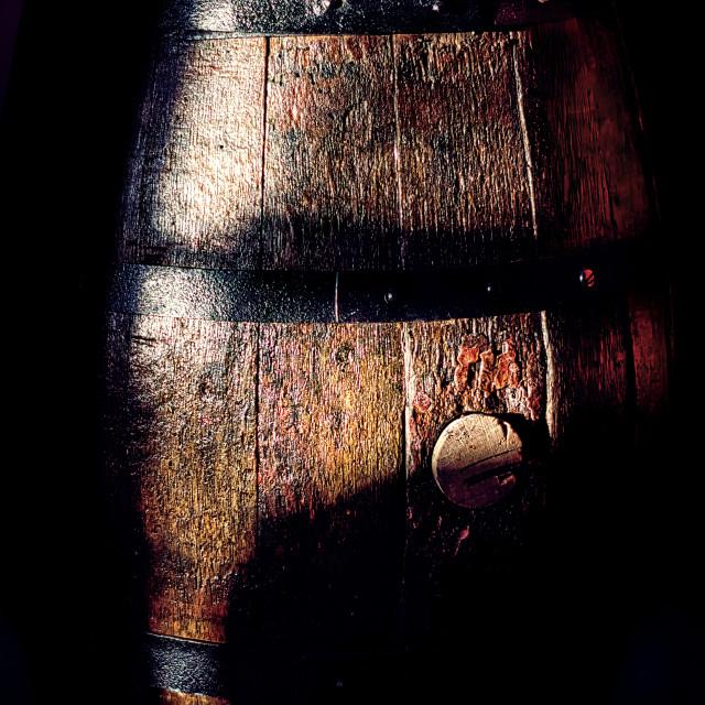 """Oak Wine Cask"" stock image"
