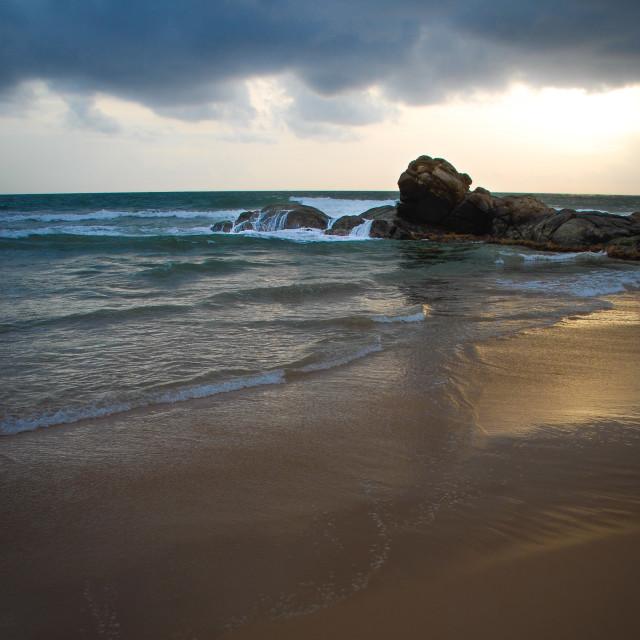 """Bentota beach, Sri Lanka"" stock image"